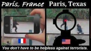 Paris, France vs. Paris, TX