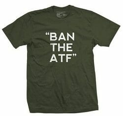 Ban the ATF tshirt