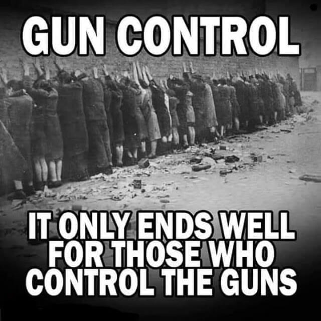 Gun Control: it only ends well for those who control the guns