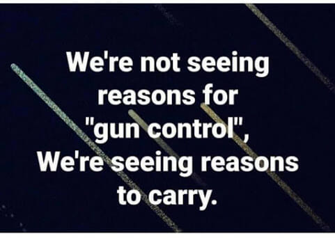 Reasons to carry