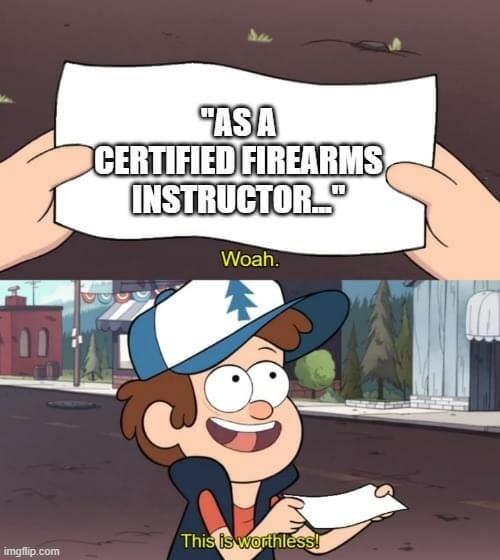 certified firearms instructor