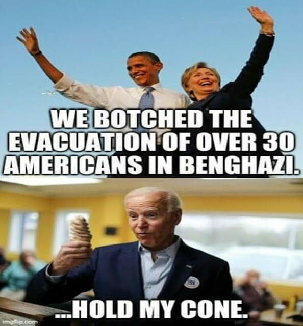 Botched evacuation of Americans