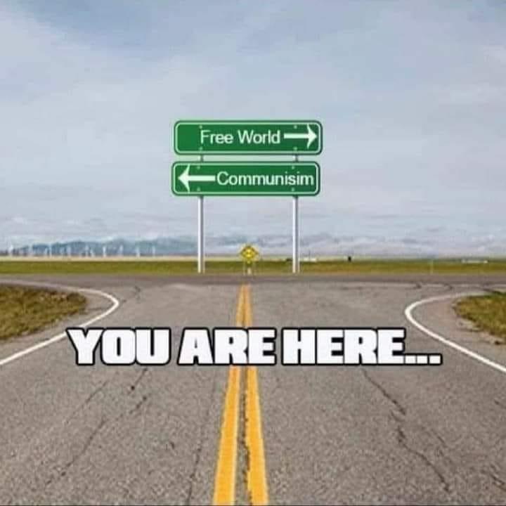 free world vs communism